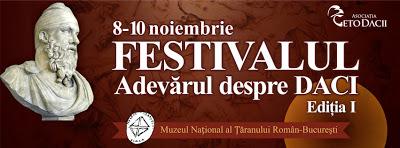 Festivalul Adevărul despre Daci 2013, ediția I