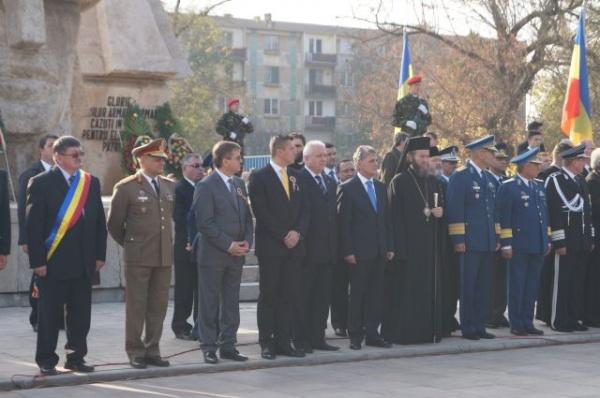 Mircea Duşă,Ministrul Apărării Naţionale a sărbătorit Ziua Armatei la Carei