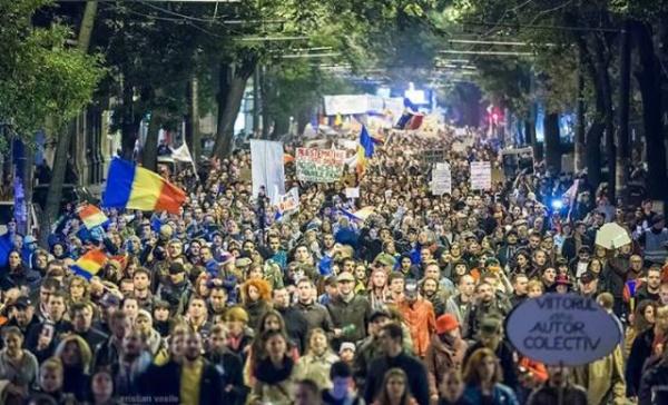 Continuă protestele împotriva proiectului de la Roşia Montană