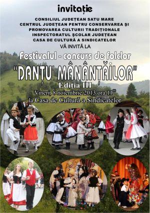 Festival Folcloric-concurs  pentru tineri