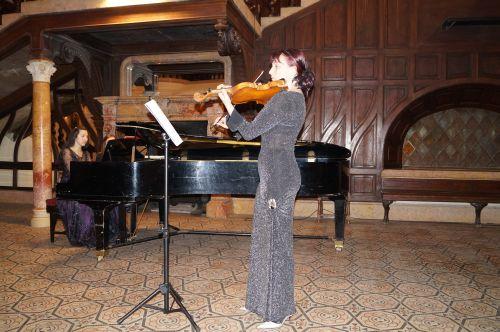 Concert de vioară și pian