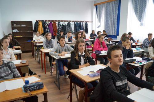 Lotul matematicienilor de la Liceul Teoretic pentru etapa judeţeană a Olimpiadei
