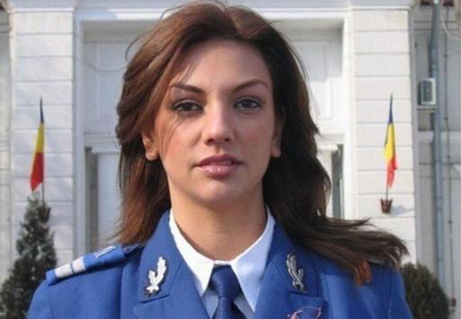 Cea mai sexy femeie în uniformă din lume este la Jandarmeria Română