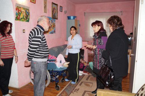 AJOFM Satu Mare  în vizită la Centrul Violeta Carei