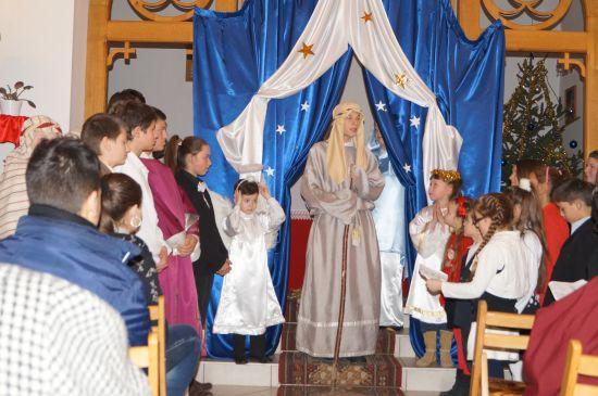 Vestitorii Naşterii Mântuitorului la biserica Sf.Anton