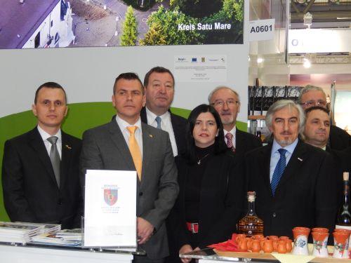 Delegaţie sătmăreană la Târgul de Turism de la Viena