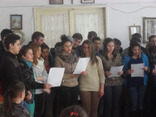 Eminescu comemorat şi la Centrul social Carei