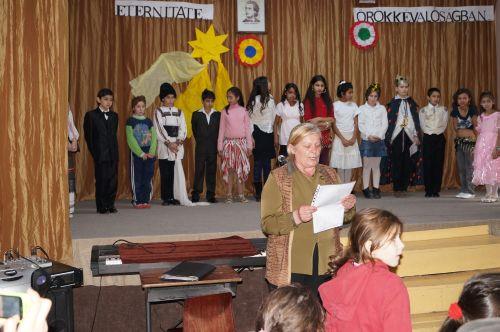 Eminescu şi Petofi omagiaţi la Şcoala Gimnazială nr.1