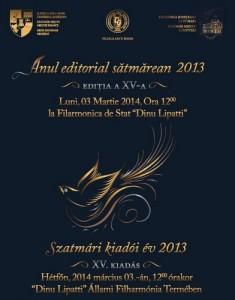 Anul editorial sătmărean la a XV-a ediție