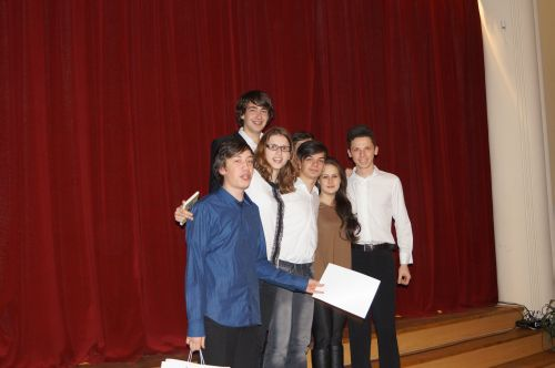 """Premiile concursului  """"Îmi place Eminescu"""""""