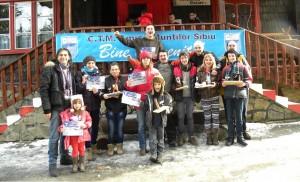 Sătmăreni pe podium la concursul de obiceiuri de munte de la Păltiniș