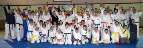Stagiu de pregătire la CS Karate Do B.F.K.S.  Carei cu Sensei din Budapesta