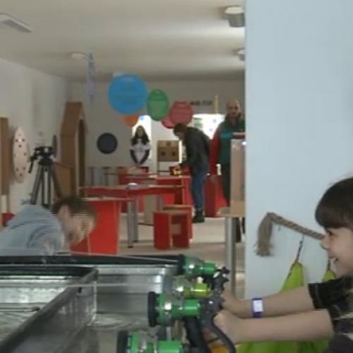 Muzeul în care copiii se pot juca cu exponatele