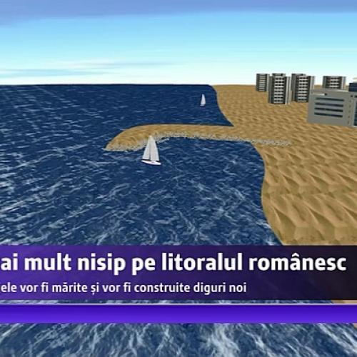 Plaje de vis cu nisip alb de pe fundul Dunării şi diguri subacvatice pe litoralul românesc
