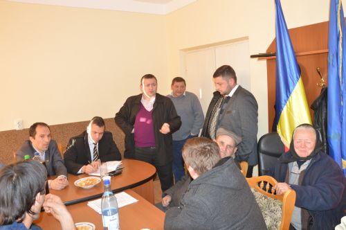 Preşedintele Consiliului Judeţean,Adrian Ştef susţine audienţe în judeţ