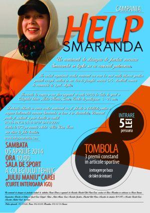 Evenimente caritabile pentru Smaranda  Némethi