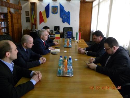 Ambasadorul Ungariei primit la Prefectura Satu Mare