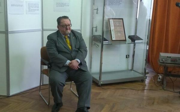 Virgil Enătescu și-a expus realizările de o viață