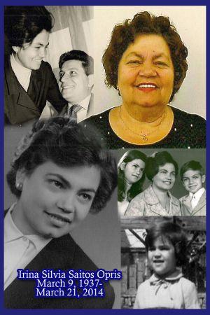 S-a stins din viaţă Irina Silvia Opriş