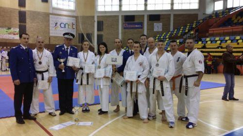 Argint pentru jandarm sătmărean la Campionatul de karate