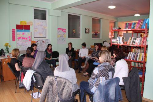 Curs de formare în domeniul educației non-formale,la Negrești-Oaș