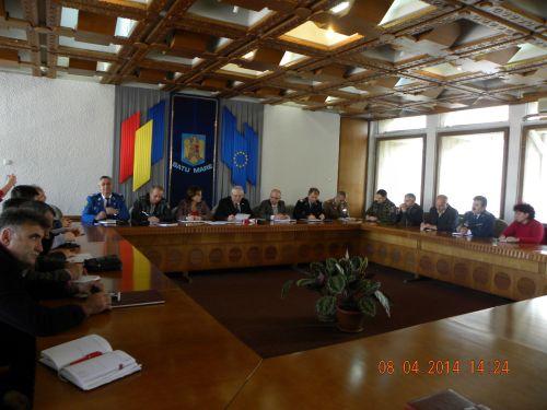 Şedinţa Comitetului Judeţean pentru Situaţii de Urgenţă