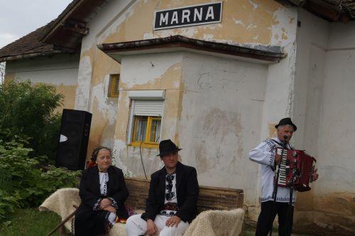 Concert în gara Marna