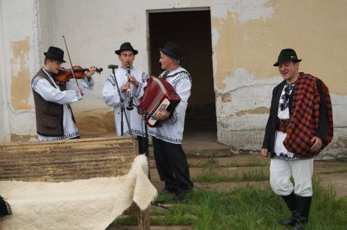 """Grupul folcloric """"Nepoţii Iancului"""" şi """"Fraţii Zele"""" promovează cântecul românesc în Germania"""