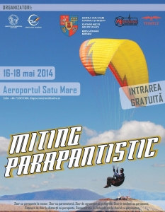 Miting parapantistic la Aeroportul Satu Mare