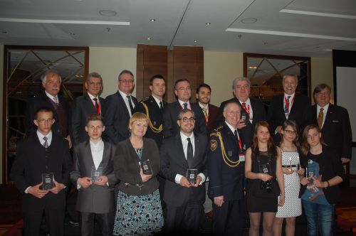 Premiu european  pentru STS,la 10 ani de la prima convorbire prin numărul 112