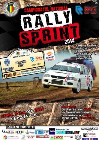 """Înscrieri pentru """"Rally Sprint"""", a doua etapă"""