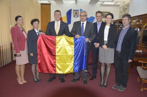 Ambasadorul Elveţiei primit de Adrian Ştef la Satu Mare