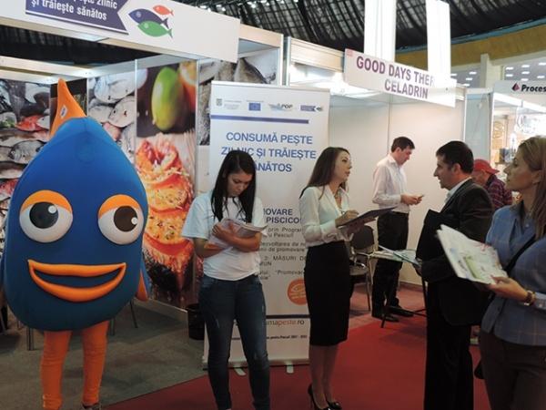 Promovarea produselor  piscicole la Satu Mare