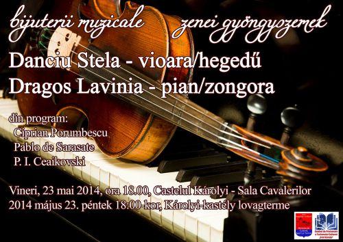 Concert de vioară şi pian