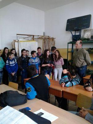 """Ziua  Porților  Deschise la Liceul Tehnologic """"Simion Bărnuțiu"""" Carei"""