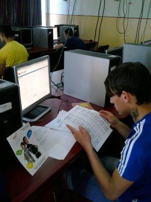 """Testare  V.I.A. la Liceul Tehnologic """"Simion Bărnuţiu""""  din Carei"""