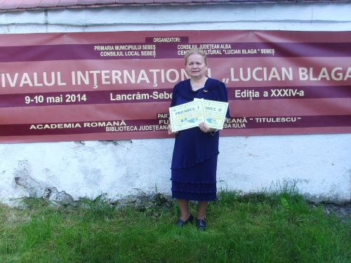"""Festivalul Internaţional  """"LUCIAN BLAGA"""" Alba Iulia-Lancrăm-Sebeş 2014, Ediţia XXXIV"""