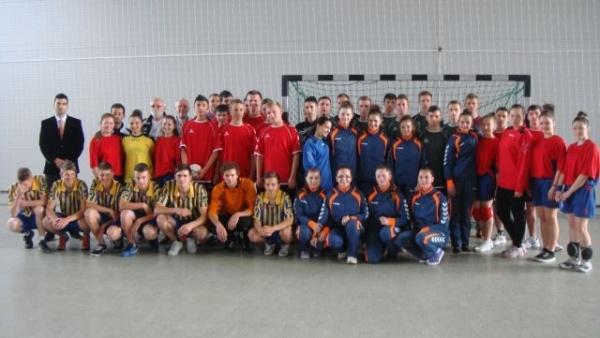 """Câştigătorii ediţiei  a III-a a Memorialului ,,Mircea Dohan"""" la handbal"""