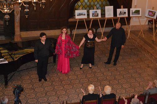 Concertul familiei Manoleanu apreciat de careieni