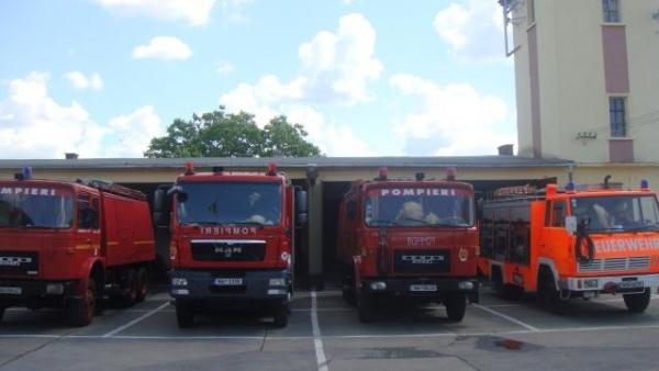 Ziua informării preventive la secţia de pompieri Carei