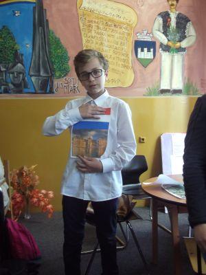 """Ziua Europei sărbătorită de elevii din Carei printr-o """"Agenţie de Turism"""""""