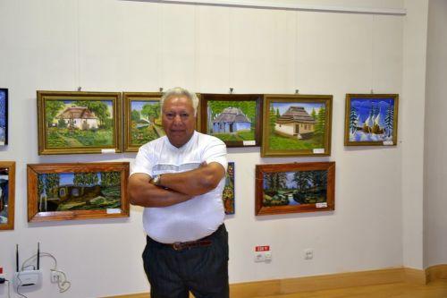 Vernisajul expozitie artistului local Bojani Ștefan