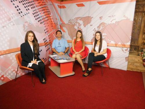 Eleve ale Liceului Teoretic apreciate de un post TV din Maramureş