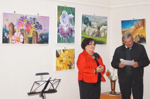 """Katharina Rosnovsky : """"Credinţa mea este şi va rămâne pictura"""""""