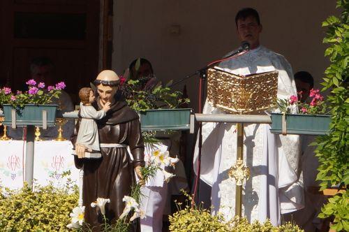 Hram la biserica Sf.Anton de Padova din Carei
