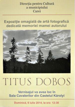 Titus Doboş-artă fotografică dedicată mamei