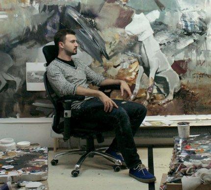 Un tablou al pictorului  băimărean Adrian Ghenie vândut la Londra cu 1,77 milioane euro