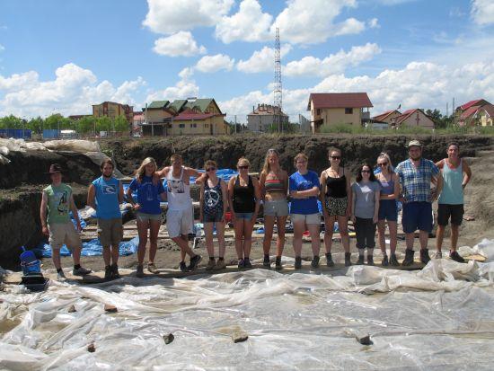 Ajutor  internaţional pentru cercetări arheologice la Tăşnad