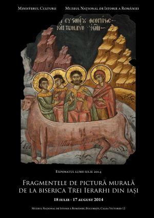 """Microexpozițe  """"Fragmente de pictură murală de la Biserica Trei Ierarhi din Iași"""""""