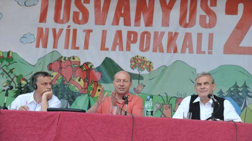 La final de mandat,Băsescu nu mai este invitat la Tuşnad